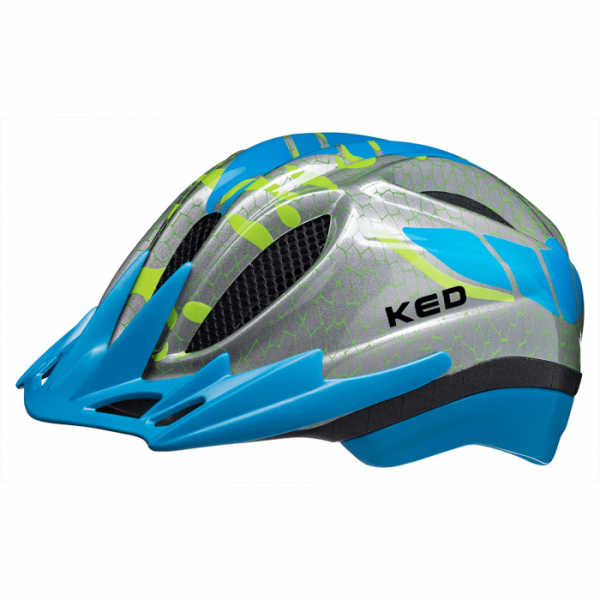 Meggy K-Star Kindervelohelm-Lightblue-Grösse S/M (49-55 cm)