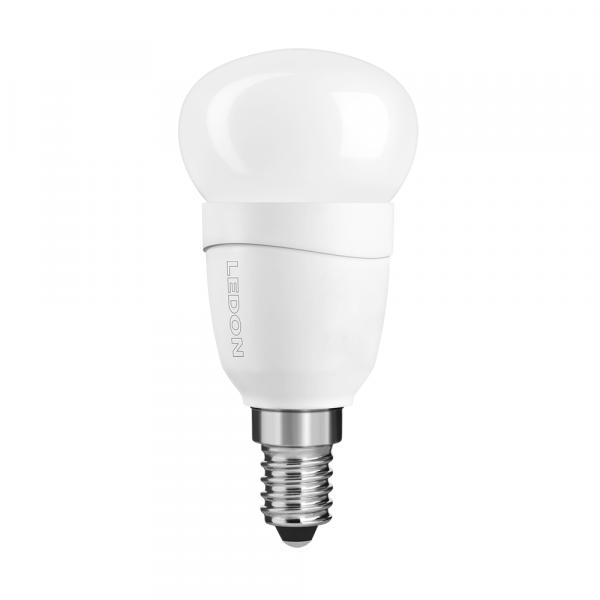 LEDON LED Lampe: Tropfenform, P45, 5W