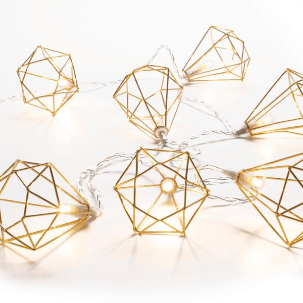 Lichterkette Diamond indoor