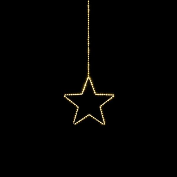 Filigran leuchtender Stern Angel S D38cm